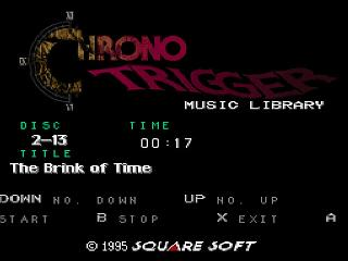 Screenshot Thumbnail / Media File 1 for Chrono Trigger - Music Library (Japan) (BS) [En by Terminus v1.00e]